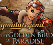 Youda Legend: The Golden Bird of Paradise Macintosh Front Cover