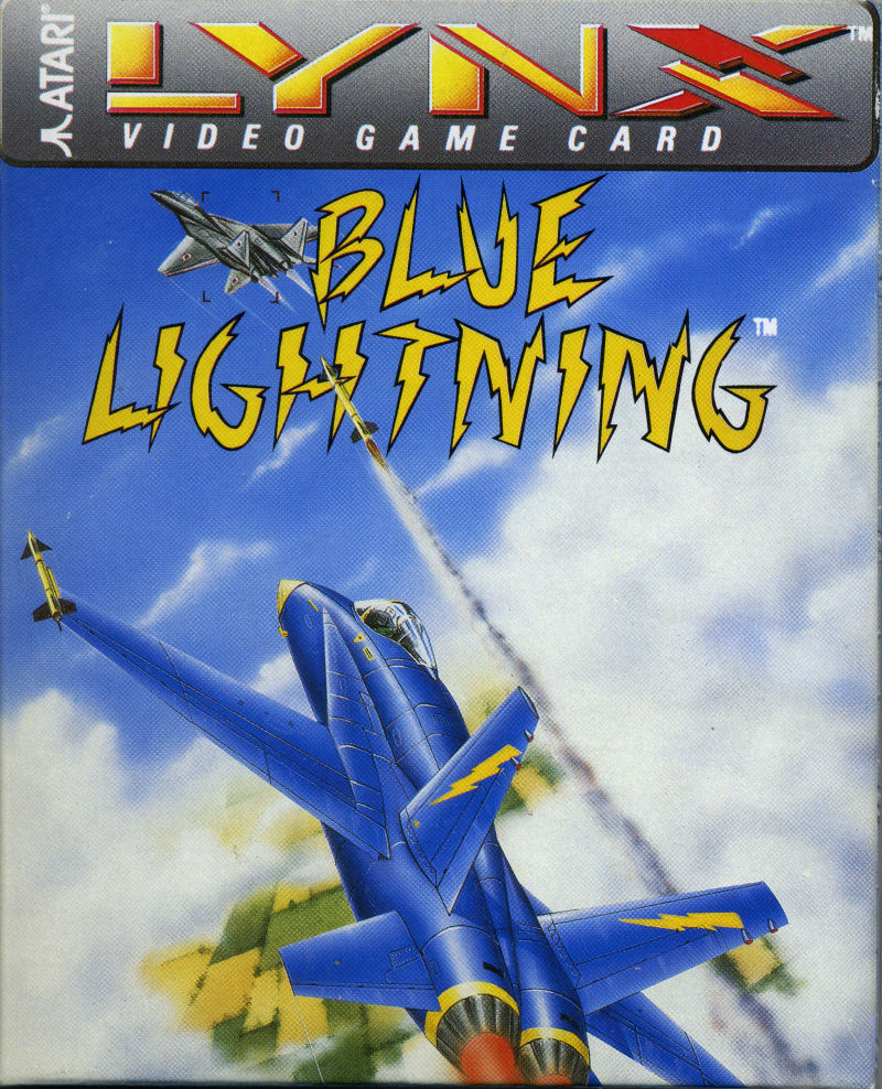 Blue Lightning Lynx Front Cover