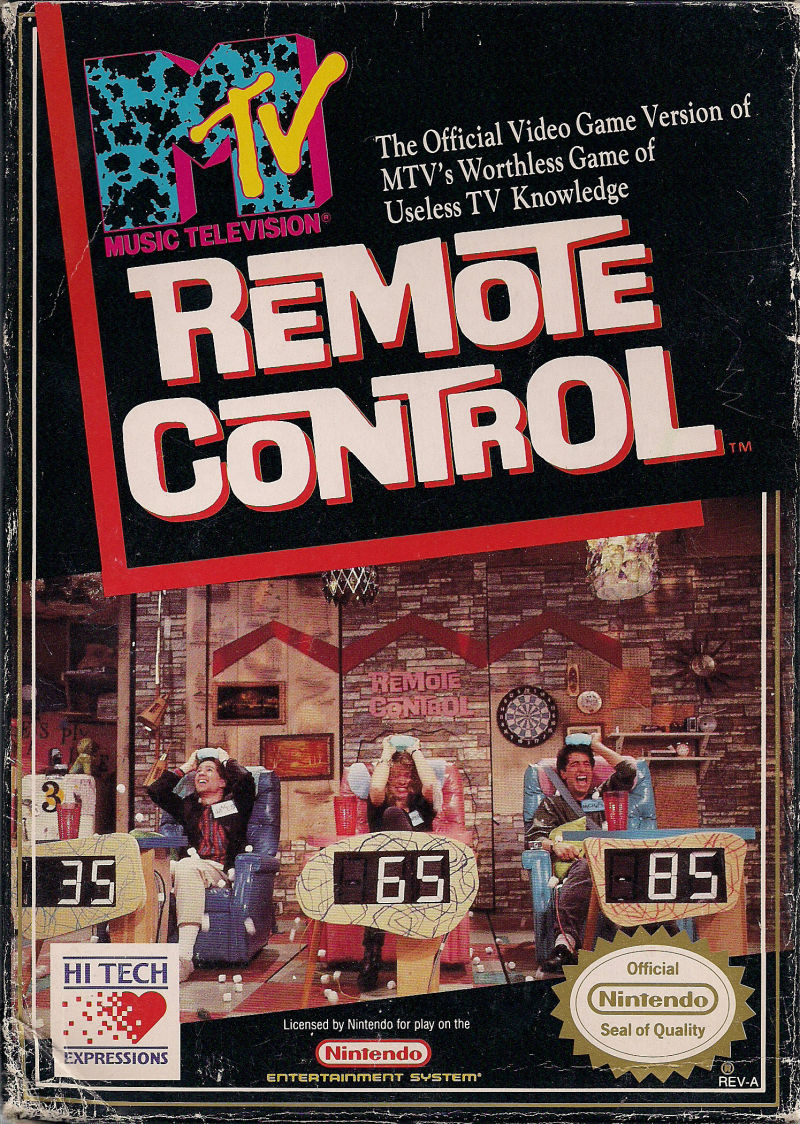 Remote Control For Nes 1990 Mobygames