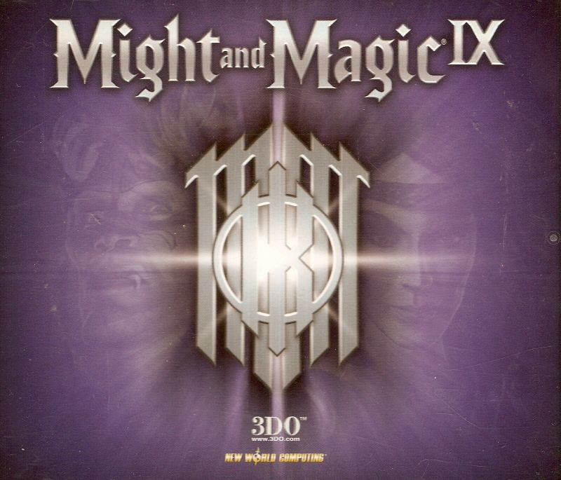 Might and Magic IX Windows Other Jewel case - front