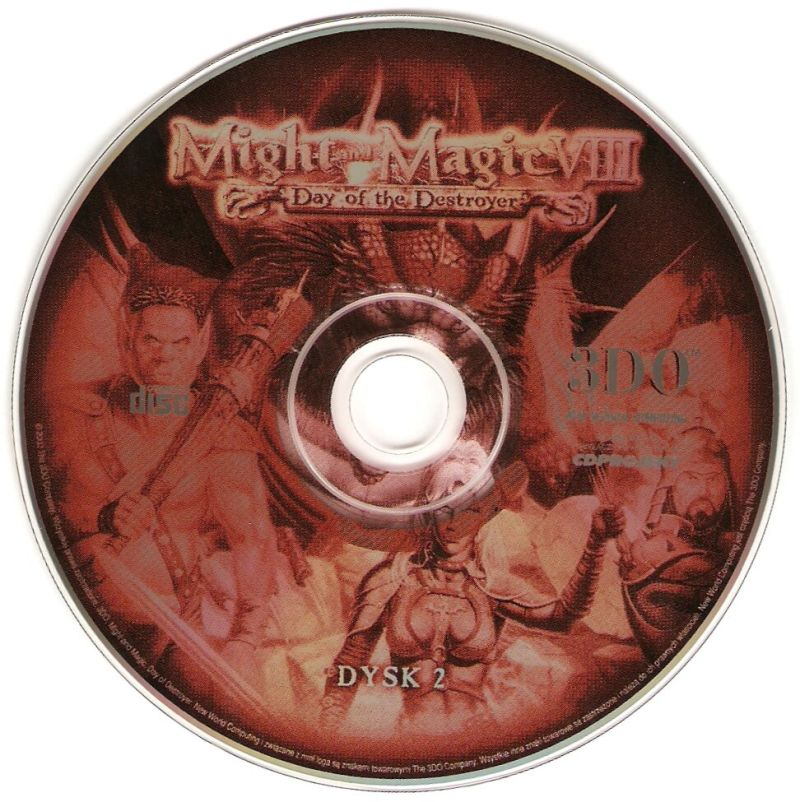 Might and Magic IX Windows Media Bonus disc 2 - Might and Magic VIII