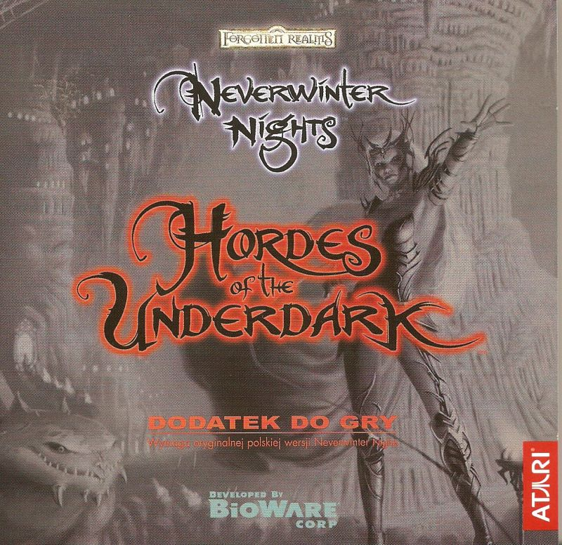 Neverwinter Nights: Hordes of the Underdark Windows Other Jewel case - front