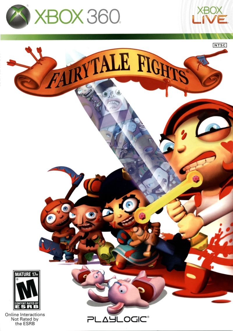 Fairytale Fights Xbox 360 Front Cover