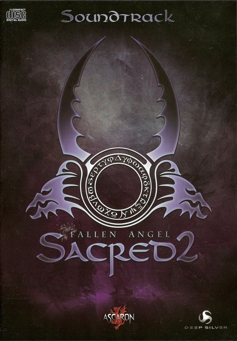 Sacred 2: Fallen Angel Windows Other Soundtrack keep case - front