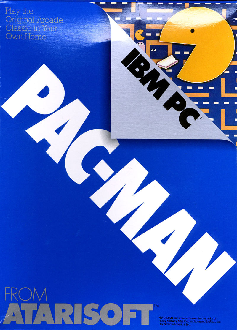 Pac-Man PC Booter Front Cover