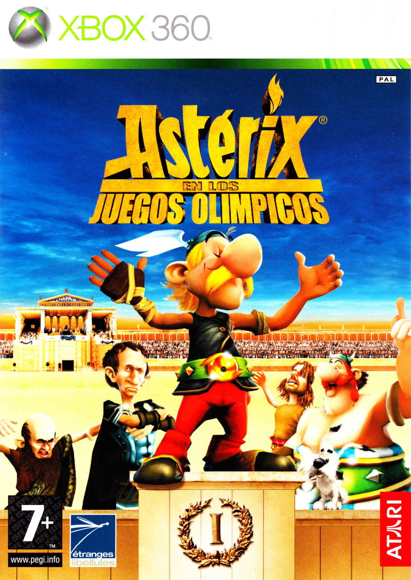 Asterix at the Olympic Games Xbox 360 Front Cover