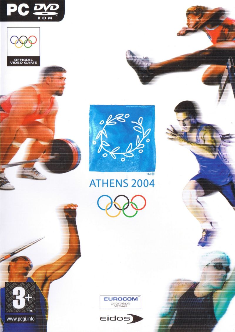 Athens 2004 Windows Front Cover