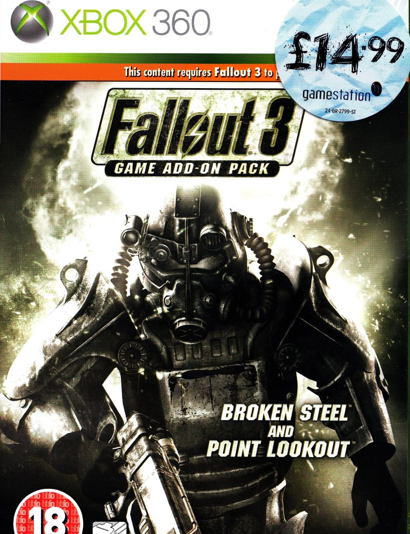 Fallout 3: Game Add-on Pack - Broken Steel and Point