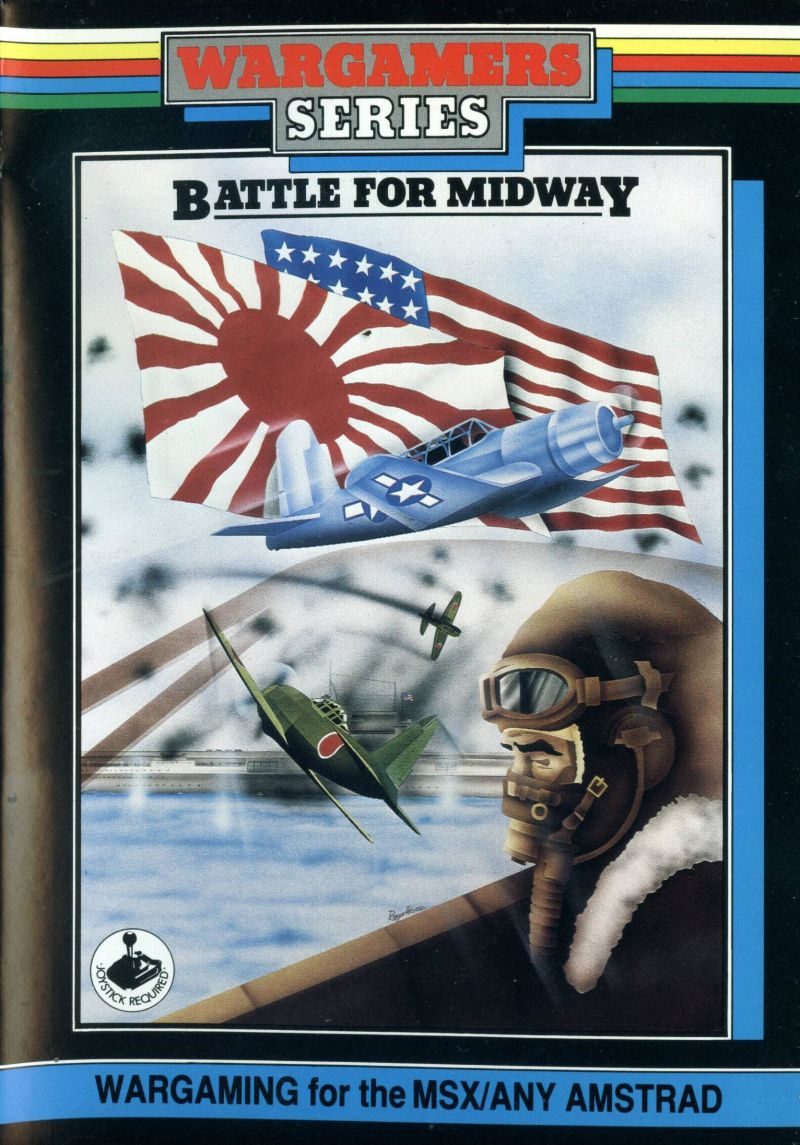 Battle for Midway (1985) Amstrad CPC box cover art - MobyGames
