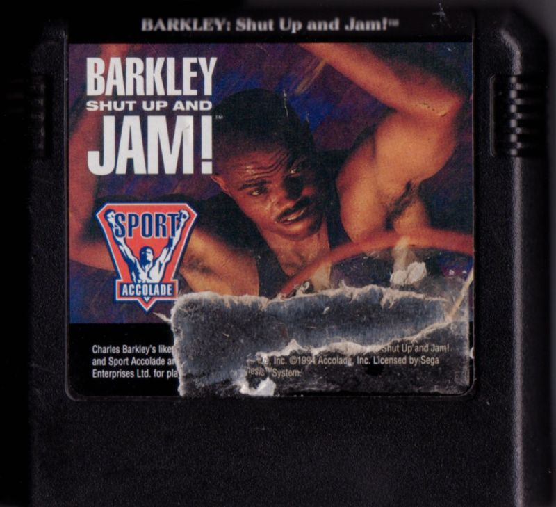 Barkley: Shut Up and Jam! Genesis Media