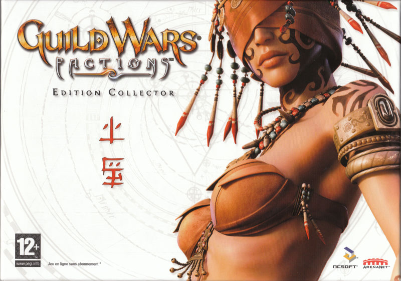 Guild Wars: Factions (Collector's Edition) Windows Front Cover