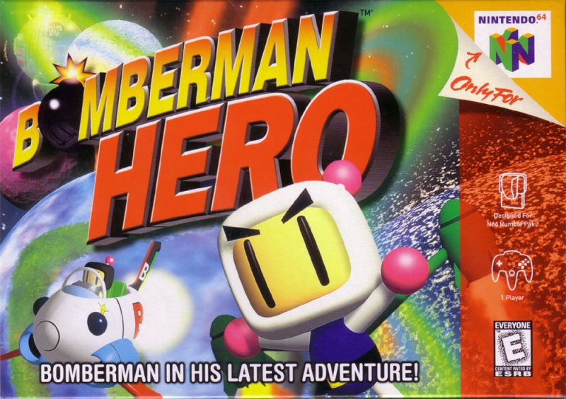 Bomberman Hero Nintendo 64 Front Cover