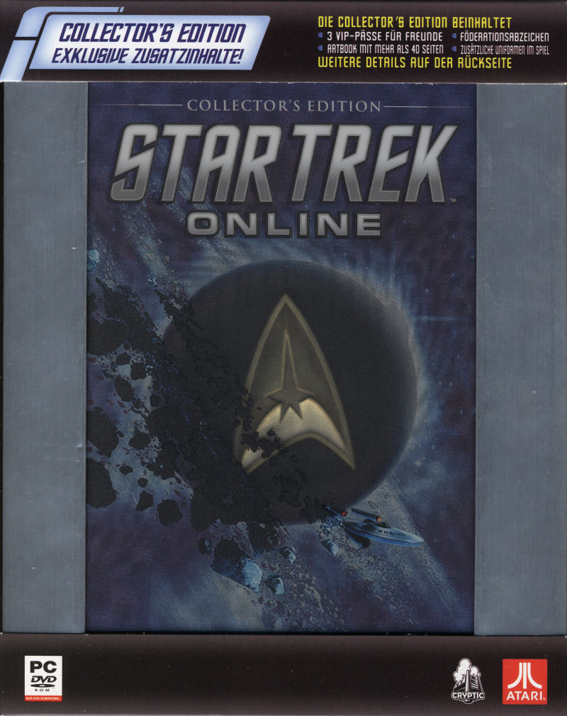 Star Trek Online (Collector's Edition) Windows Front Cover