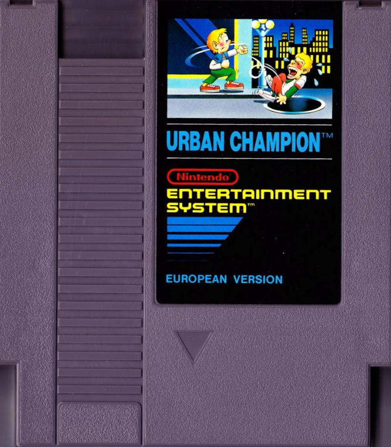 Urban Champion NES Media