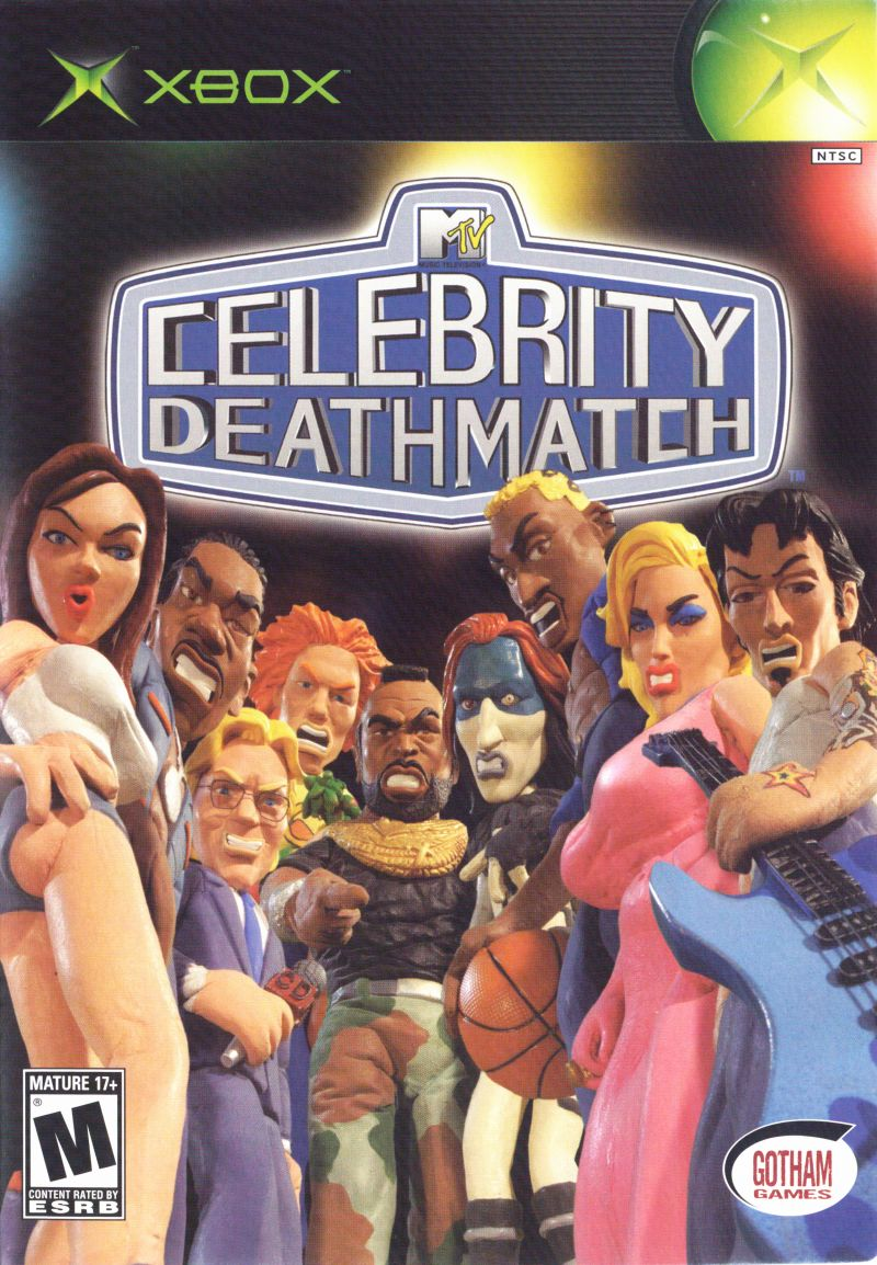 MTV Celebrity Deathmatch Xbox Front Cover