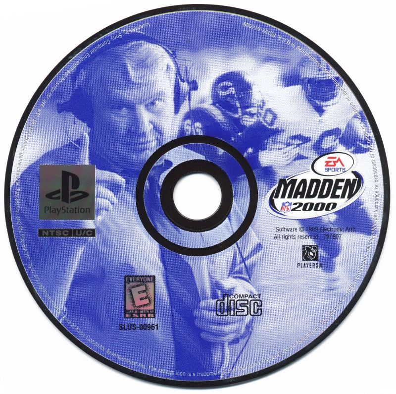 Madden NFL 2000 PlayStation Media