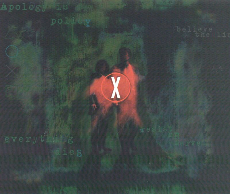 The X-Files Game PlayStation Inside Cover Right