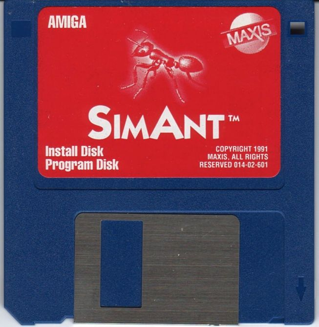 SimAnt: The Electronic Ant Colony Amiga Media Disk 1/3