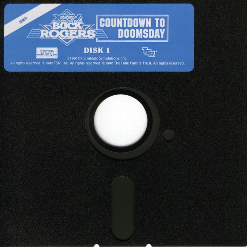 Buck Rogers: Countdown to Doomsday DOS Media Disk 1