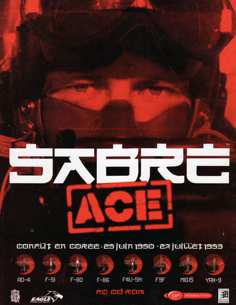 Sabre Ace: Conflict Over Korea Windows Front Cover