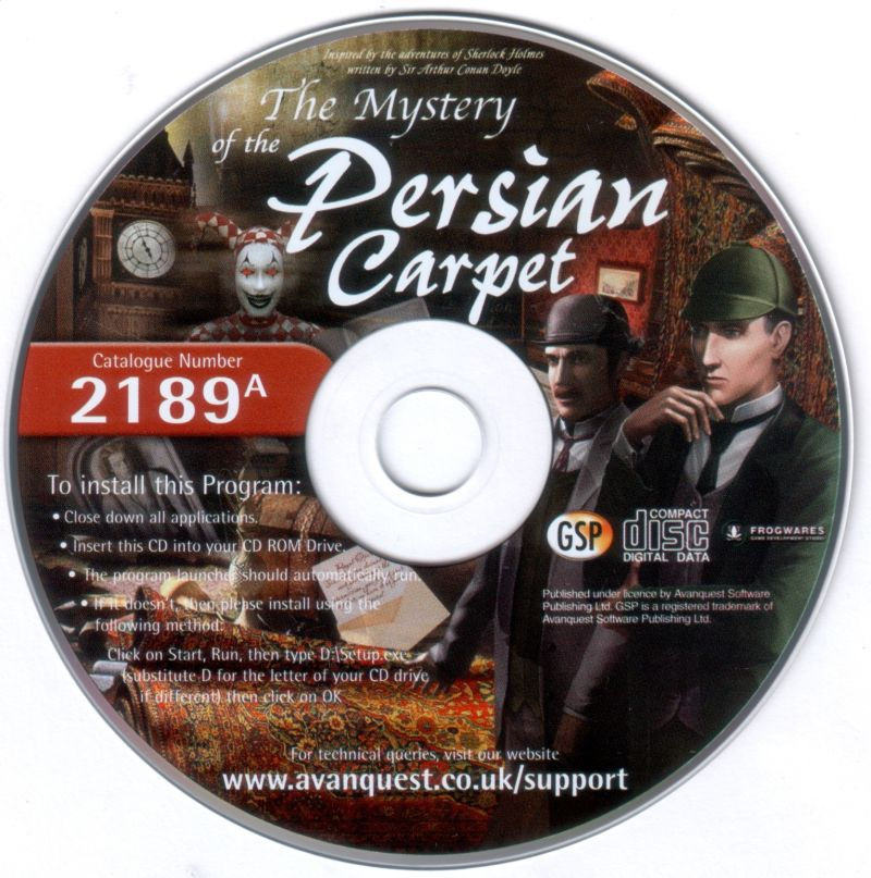 Sherlock Holmes The Mystery of The Persian Carpet Sherlock Holmes The Mystery