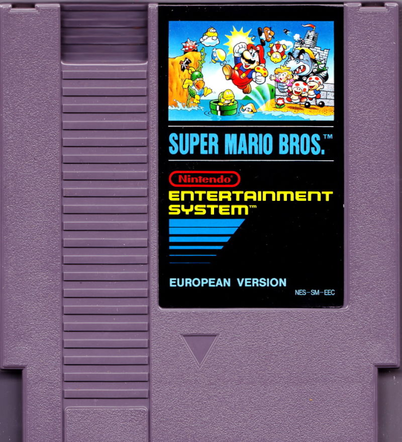 Super Mario Bros. NES Media