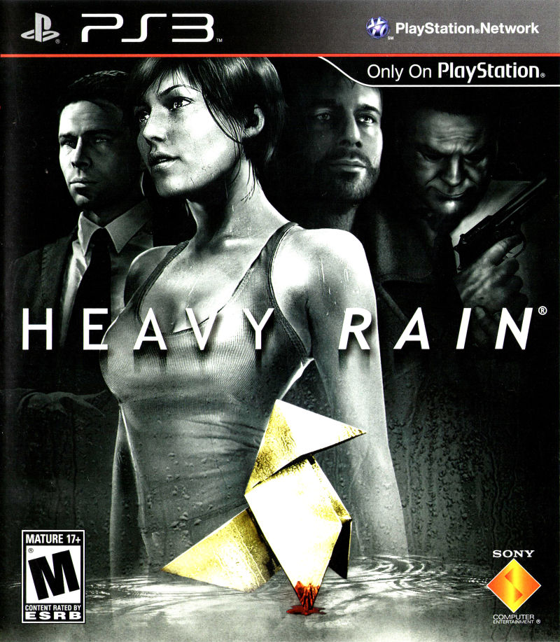 Heavy Rain PlayStation 3 Front Cover