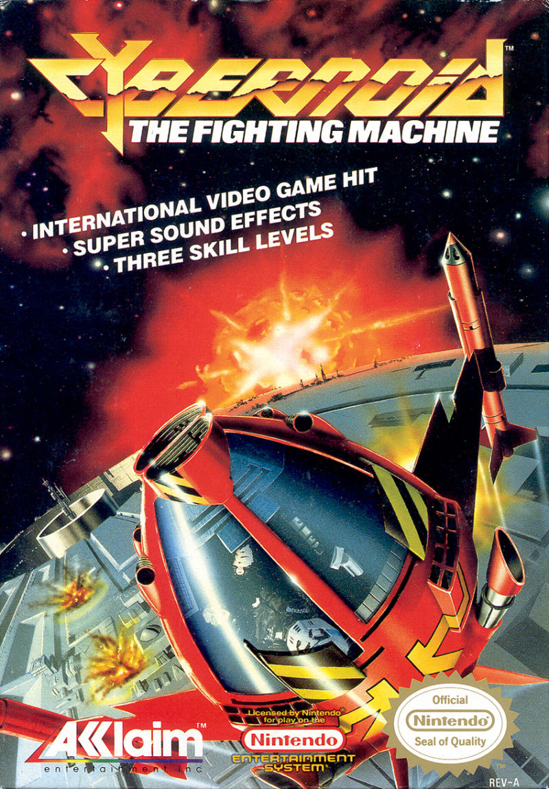 Cybernoid: The Fighting Machine NES Front Cover