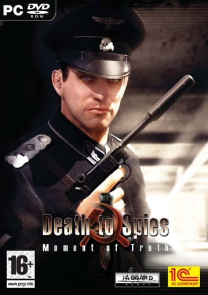 Death to Spies: Moment of Truth Windows Front Cover