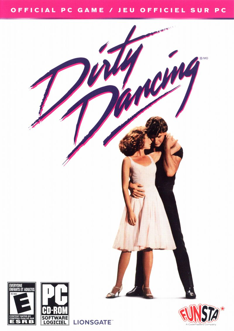 Dirty Dancing (2007) Windows box cover art - MobyGames
