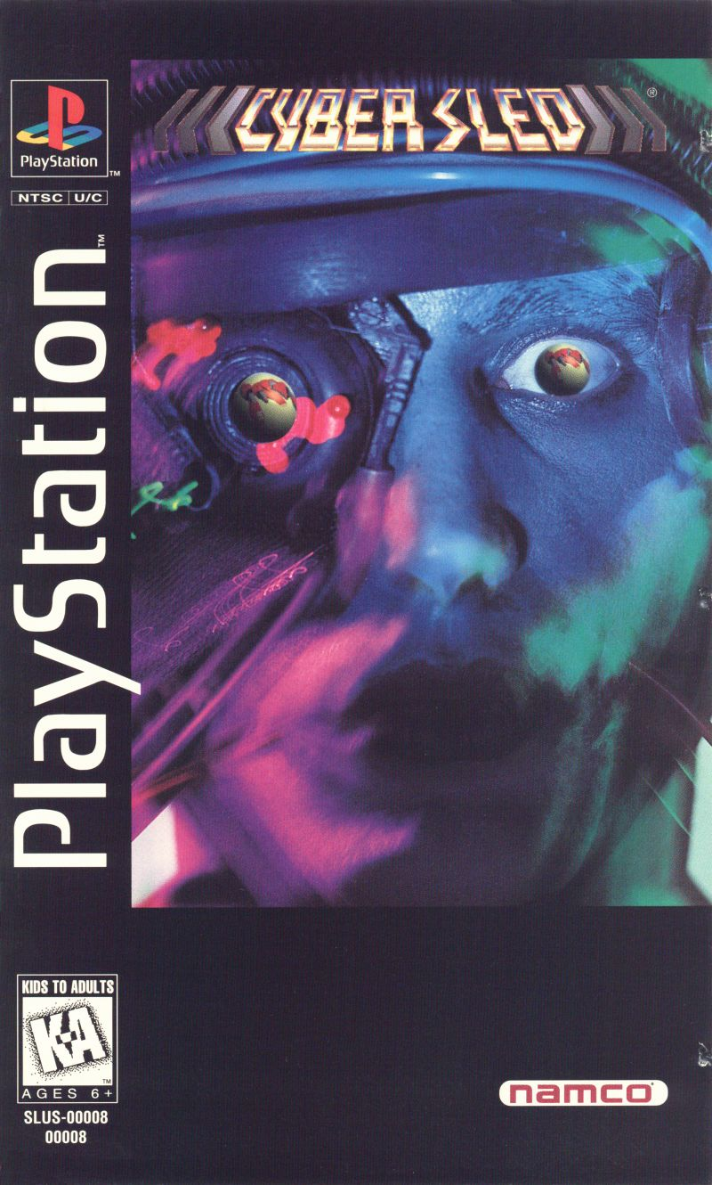 Cyber Sled PlayStation Front Cover