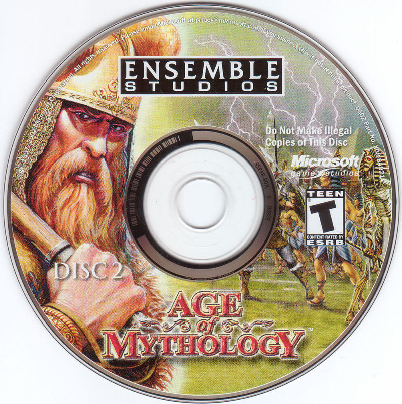 Age of Mythology Windows Media Disc 2