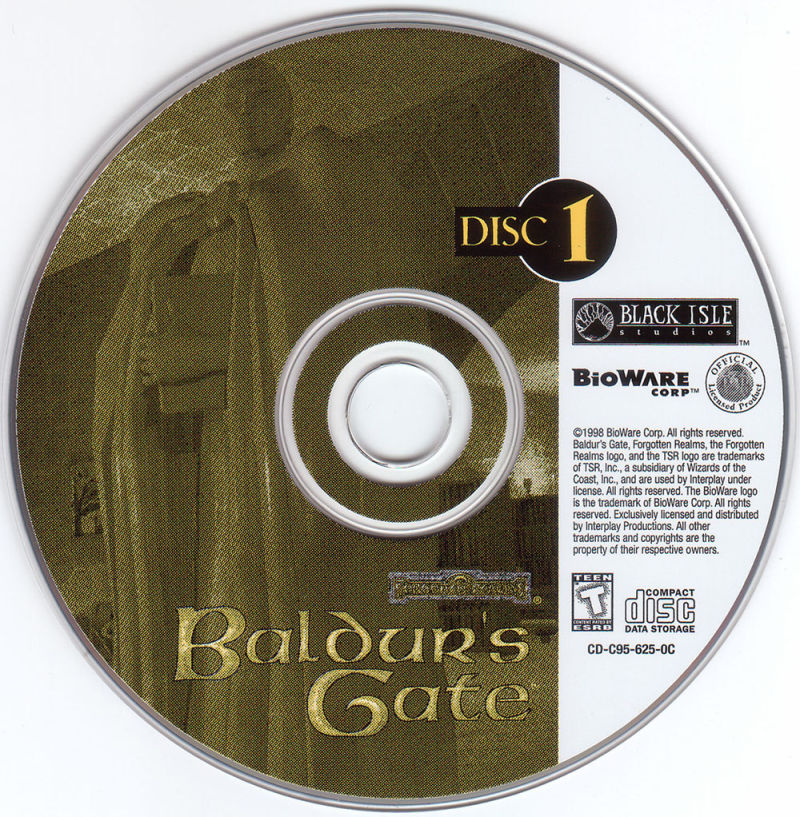 Baldur's Gate Windows Media Disc 1
