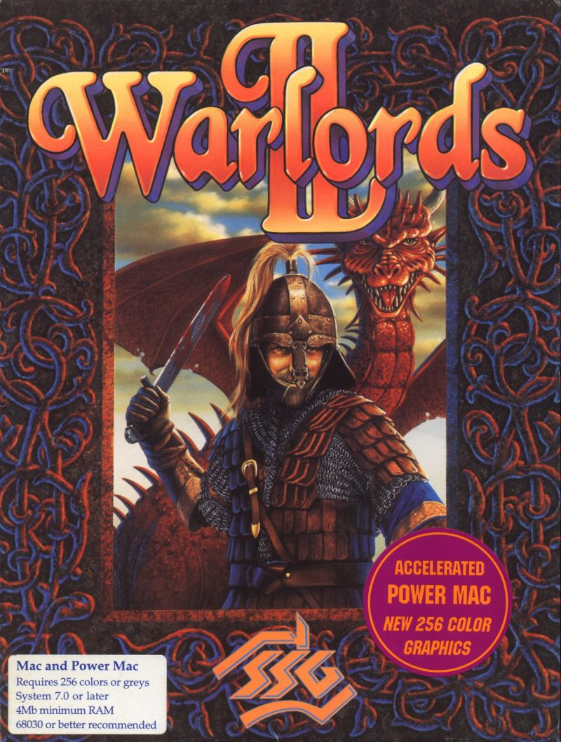 Warlords II Macintosh Front Cover