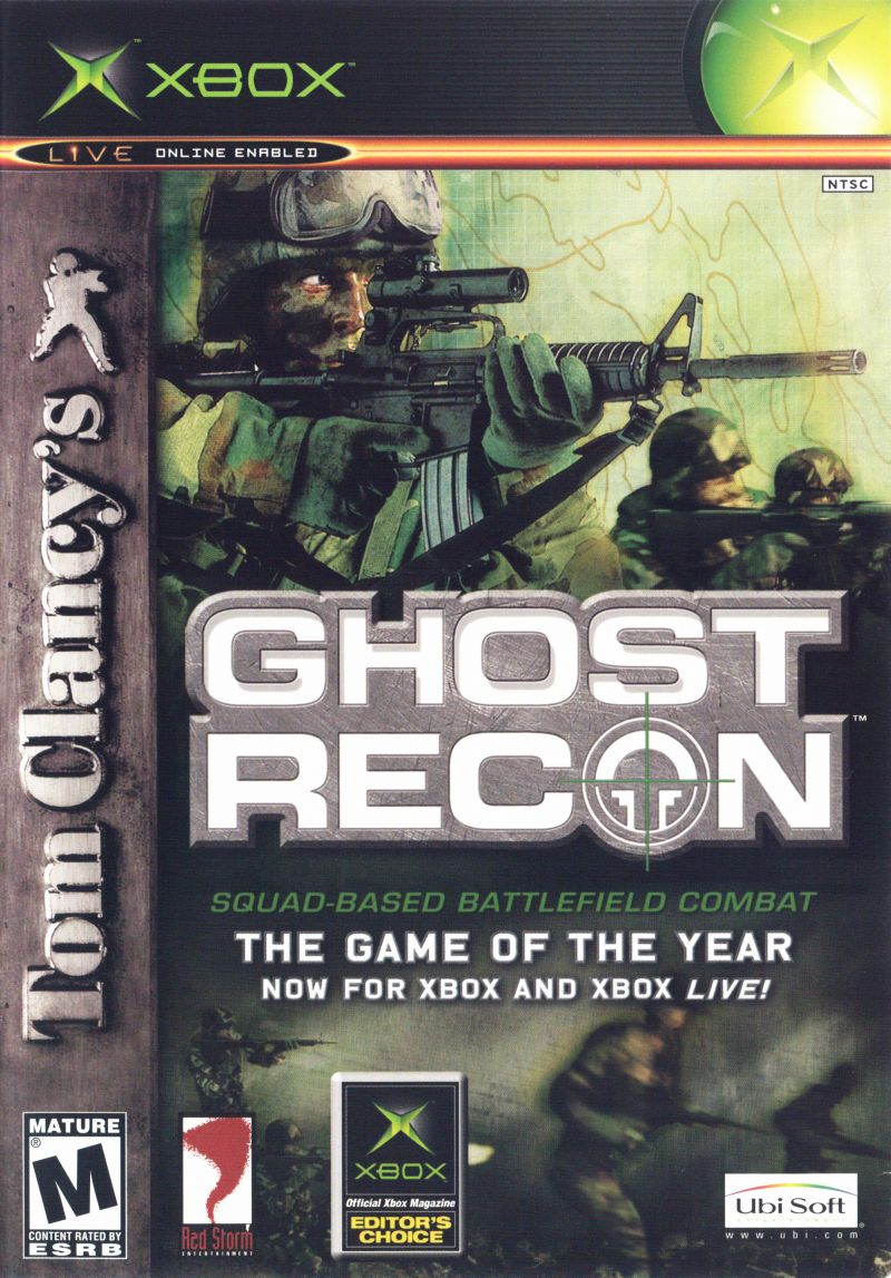 Tom Clancy S Ghost Recon For Xbox 2002 Mobygames