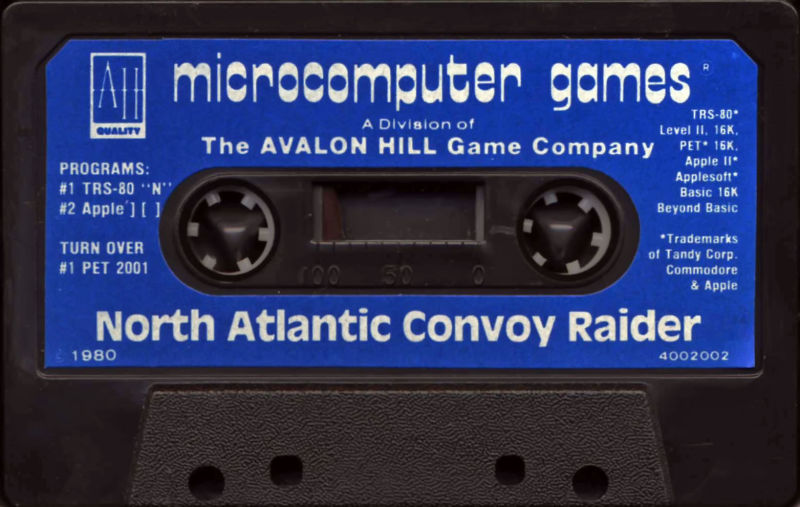 North Atlantic Convoy Raider Apple II Media