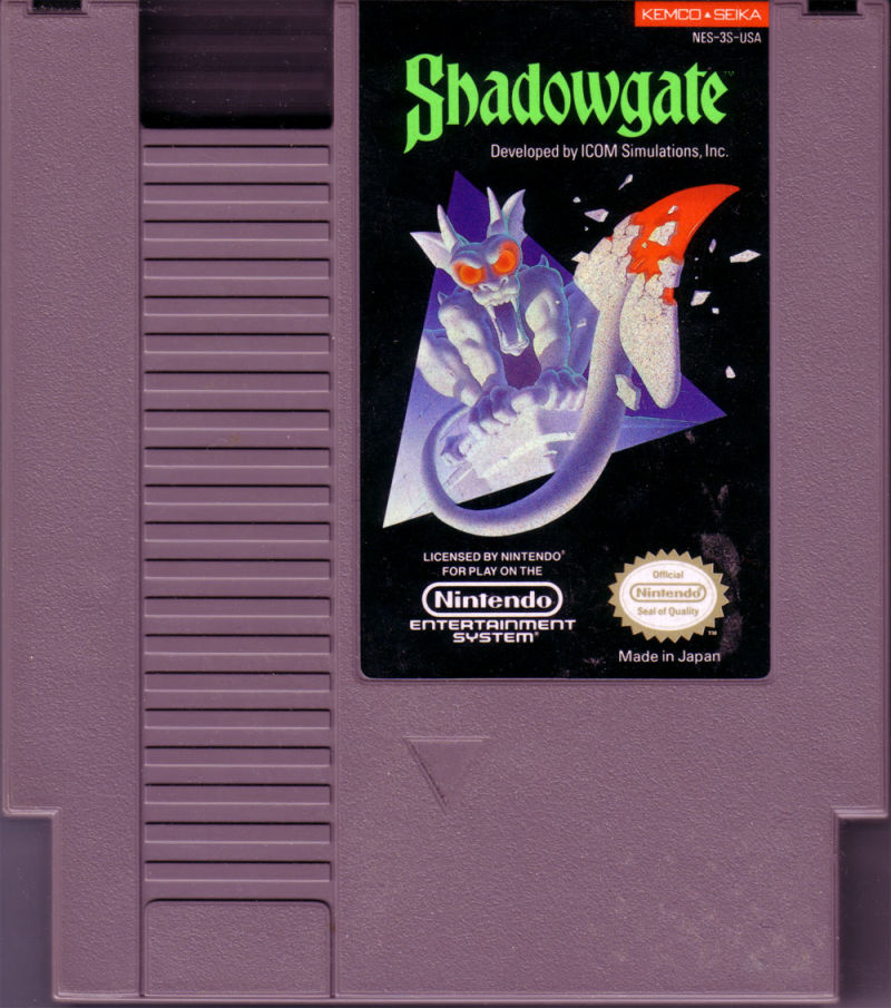 Shadowgate NES Media