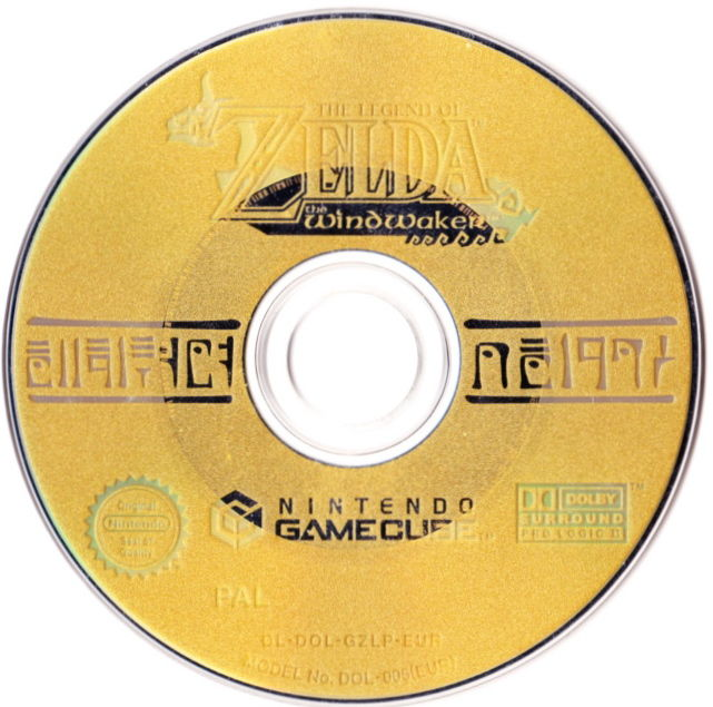 The Legend of Zelda: The Wind Waker (Limited Edition) GameCube Media Game Disc - The Wind Waker