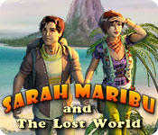 Sarah Maribu and the Lost World Windows Front Cover