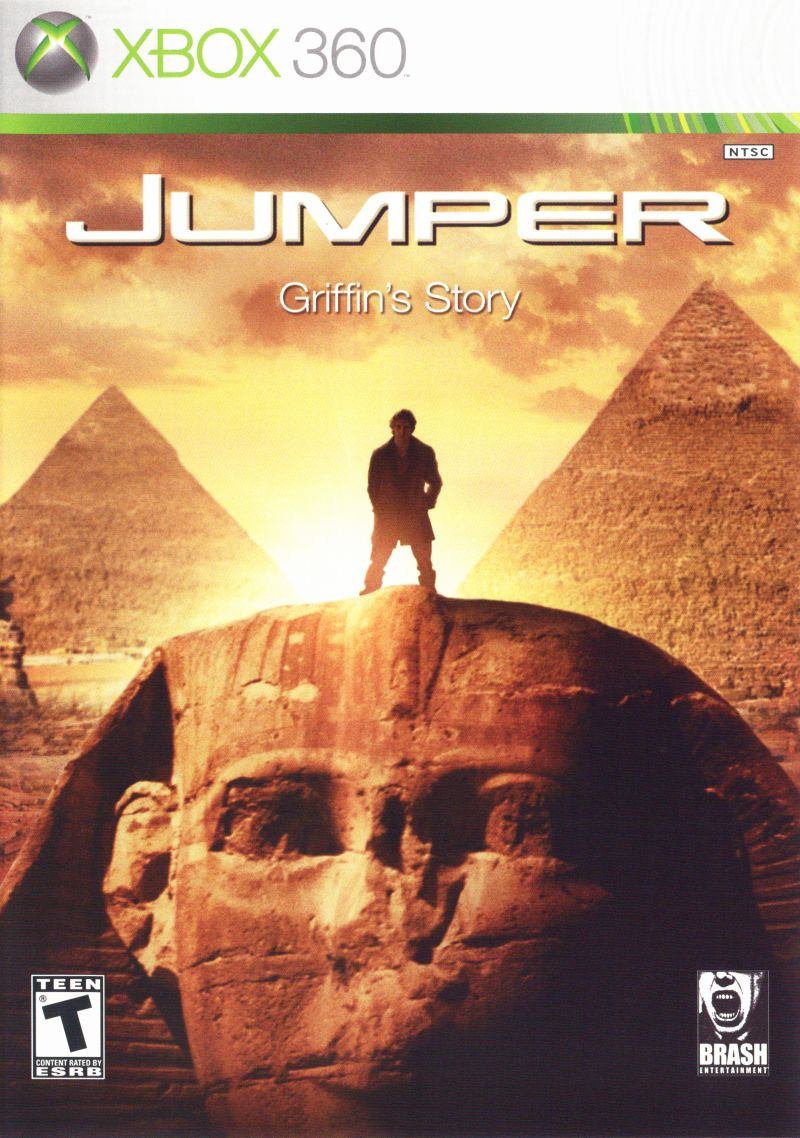Jumper: Griffin's Story Xbox 360 Front Cover