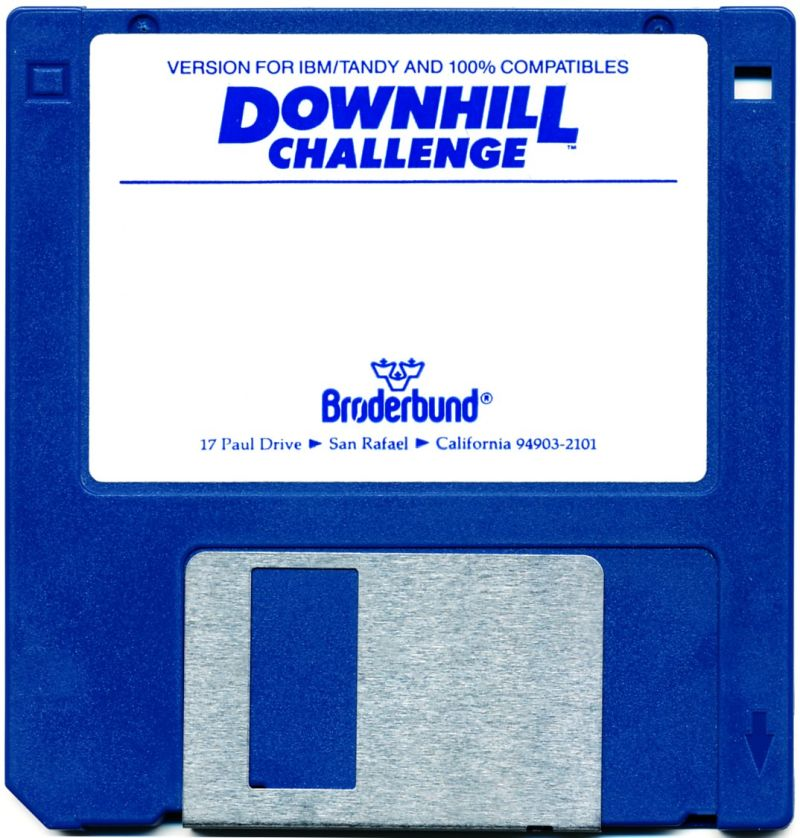 "Downhill Challenge DOS Media 3.5"" Floppy Disk"