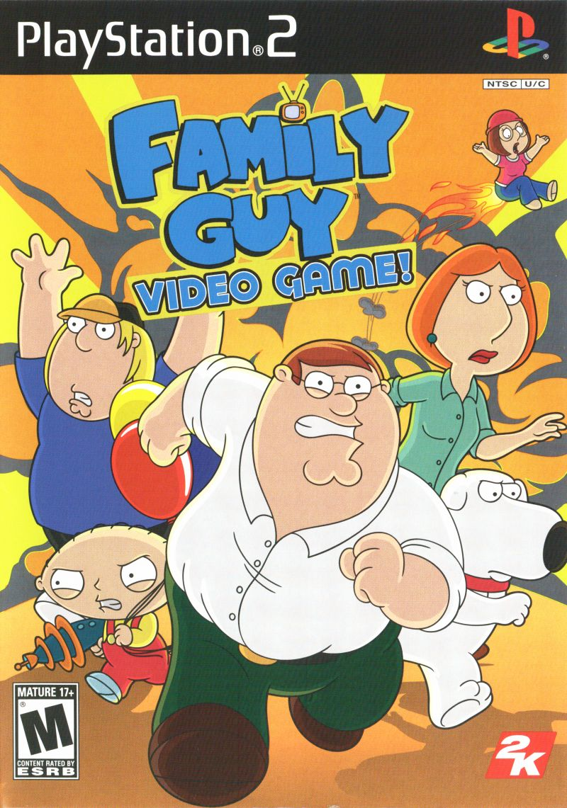 Family Guy Video Game! PlayStation 2 Front Cover