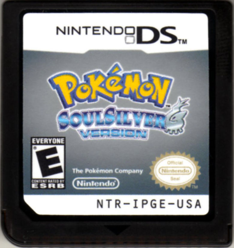 Pokémon SoulSilver Version Nintendo DS Media