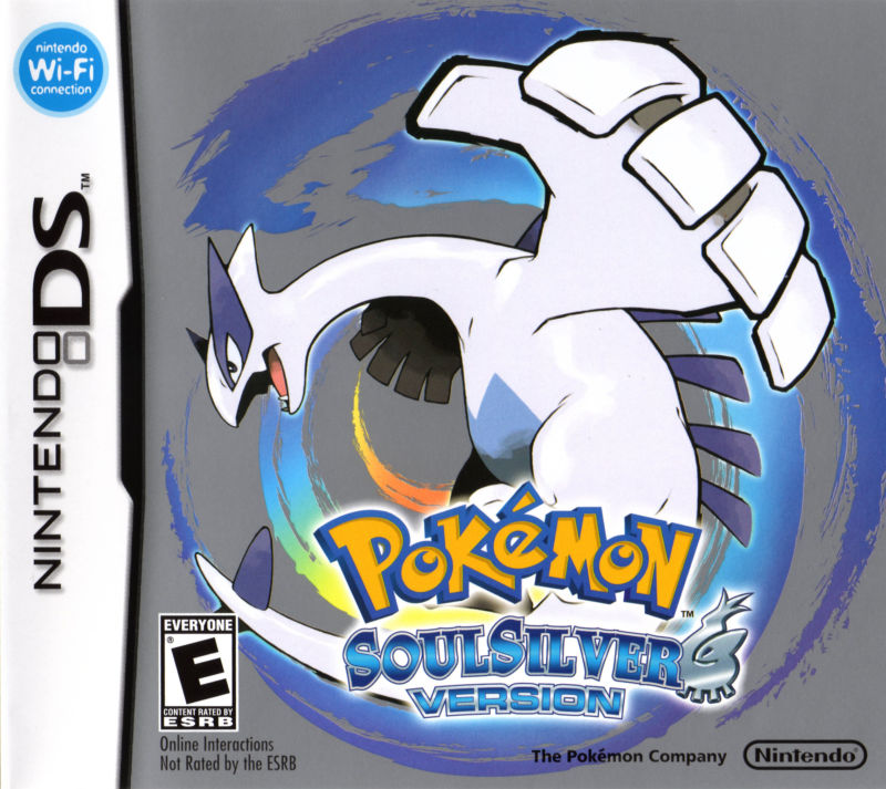 Pokémon SoulSilver Version Nintendo DS Other DS Case - Front