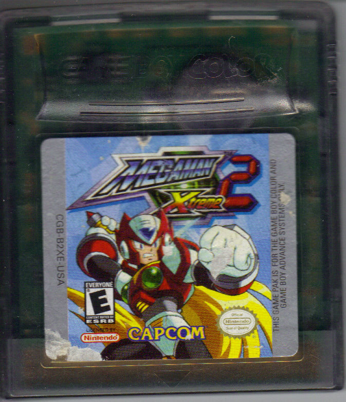 Mega Man Xtreme 2 Game Boy Color Media