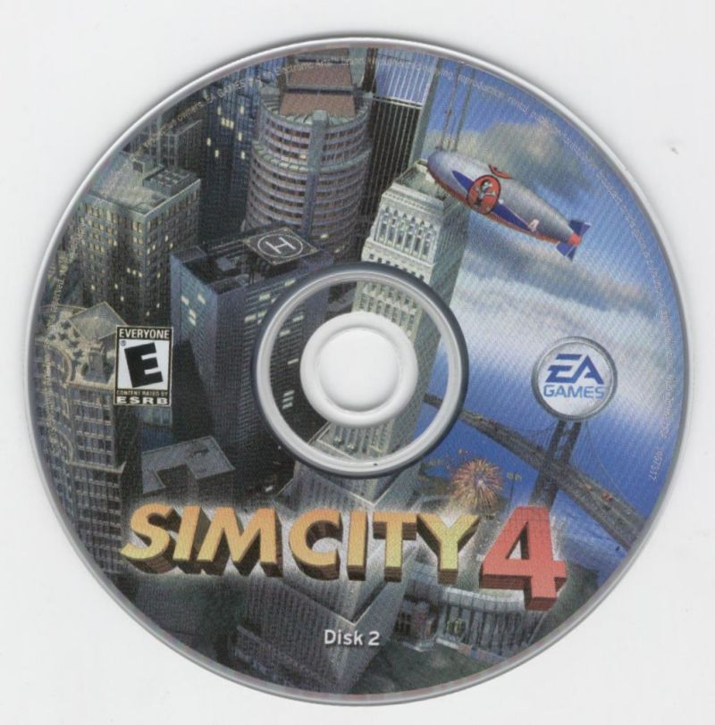 SimCity 4 Windows Media Disc 2
