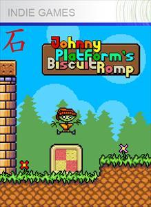 Johnny Platform's Biscuit Romp Xbox 360 Front Cover 1st version