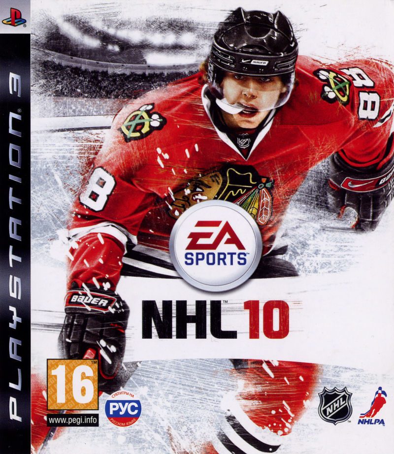 NHL 10 PlayStation 3 Front Cover