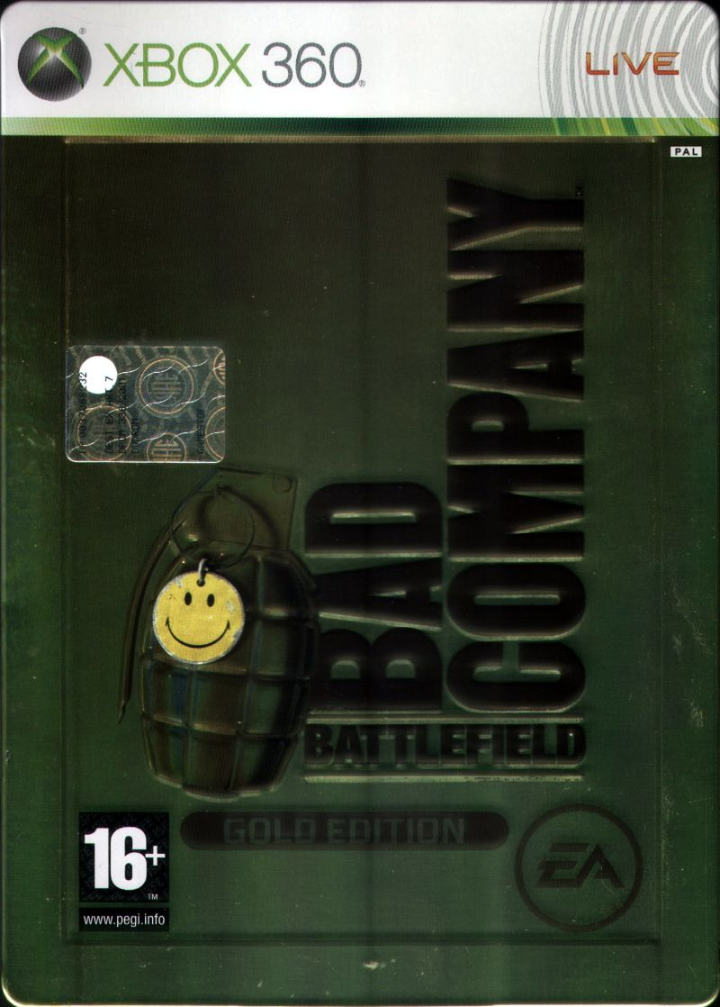 Battlefield: Bad Company (Gold Edition) Xbox 360 Front Cover