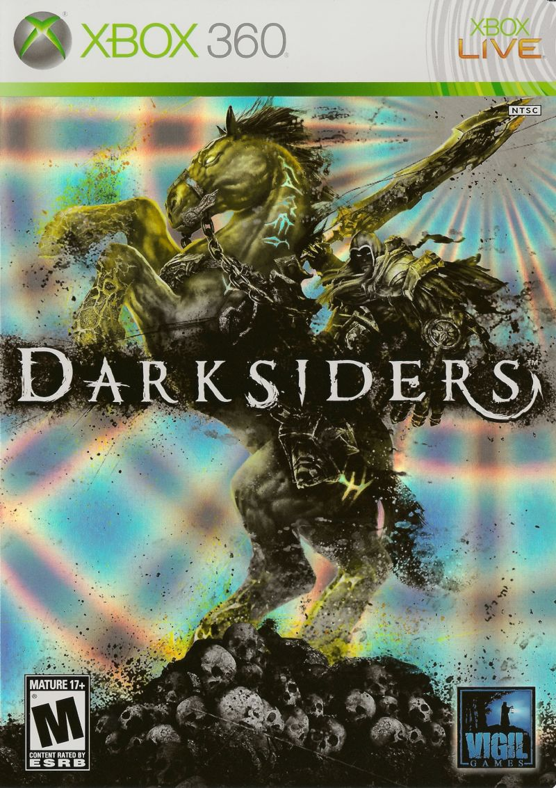 Darksiders (2010) Xbox 360 box cover art - MobyGames